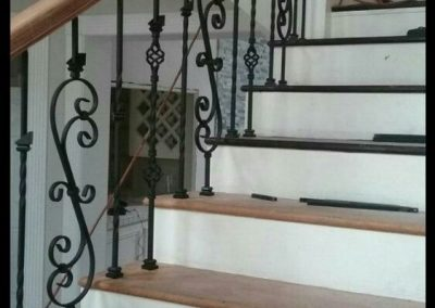 Custom Stiar Rails